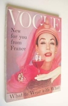 British Vogue magazine - April 1957 (Vintage Issue)