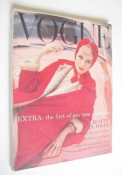 British Vogue magazine - November 1957 (Vintage Issue)