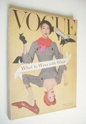 <!--1957-10-->British Vogue magazine - October 1957 (Vintage Issue)