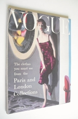 <!--1957-09-->British Vogue magazine - September 1957 (Vintage Issue)