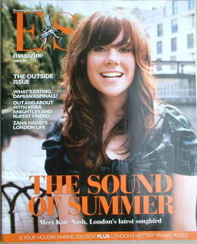 <!--2007-08-03-->Evening Standard magazine - Kate Nash cover (3 August 2007