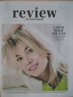 The Daily Telegraph Review newspaper supplement - 13 July 2013 - Rosamund P