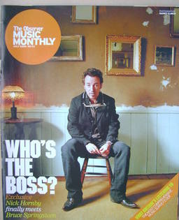 The Observer Music Monthly magazine - July 2005 - Bruce Springsteen cover