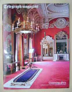 <!--2013-07-27-->Telegraph magazine - State Dining Room, Buckingham Palace