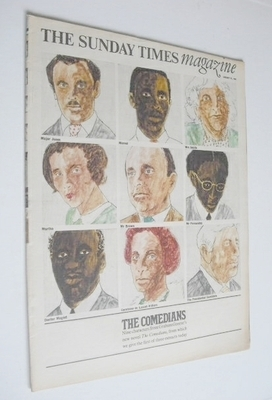 <!--1966-01-23-->The Sunday Times magazine - The Comedians cover (23 Januar