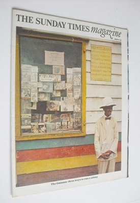 <!--1966-01-30-->The Sunday Times magazine - The Guianas cover (30 January