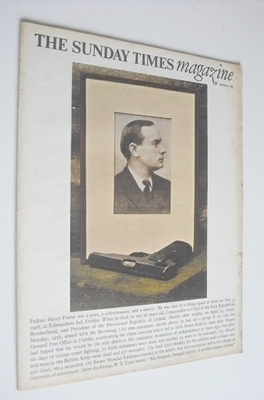 <!--1966-02-06-->The Sunday Times magazine - Padraic Henry Pearse cover (6