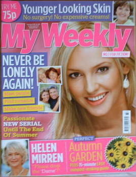 My Weekly magazine (15 September 2007)