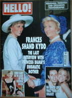 <!--2004-06-15-->Hello! magazine - Princess Diana and Frances Shand Kydd co