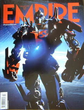 <!--2007-02-->Empire magazine - Transformers cover (February 2007 - Issue 2