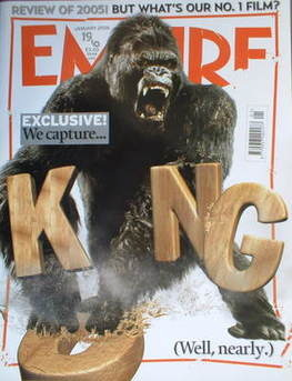<!--2006-01-->Empire magazine - King Kong cover (January 2006 - Issue 199)