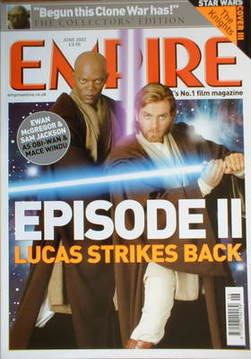 <!--2002-06-->Empire magazine - Ewan McGregor and Samuel Jackson cover (Jun