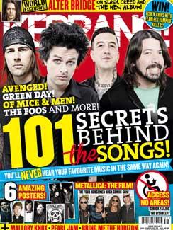 <!--2013-08-03-->Kerrang magazine - Secrets Behind The Songs cover (3 Augus