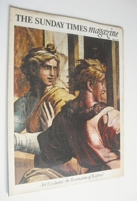 <!--1966-03-13-->The Sunday Times magazine - The Restoration of Raphael cov