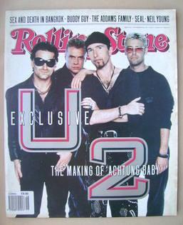 Rolling Stone magazine - U2 cover (28 November 1991)