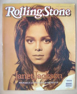 Rolling Stone magazine - Janet Jackson cover (22 February 1990 - Issue 572)