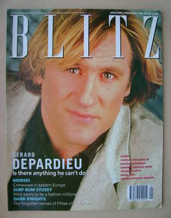 <!--1991-01-->Blitz magazine - January / February 1991 - Gerard Depardieu c