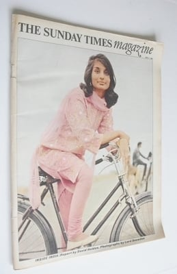 <!--1966-04-17-->The Sunday Times magazine - Inside India cover (17 April 1