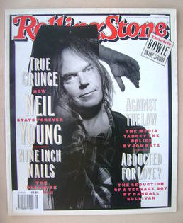 Rolling Stone magazine - Neil Young cover (21 January 1993 - Issue 648)