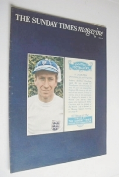 The Sunday Times magazine - Bobby Charlton cover (29 May 1966)