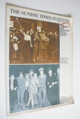 <!--1966-06-05-->The Sunday Times magazine - Armistice & VJ Day cover (5 Ju