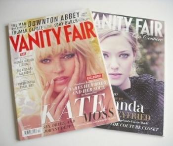 Vanity Fair magazine - Kate Moss cover (December 2012)