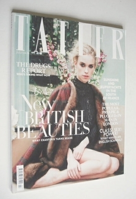 <!--2013-07-->Tatler magazine - July 2013 - Mary Charteris cover