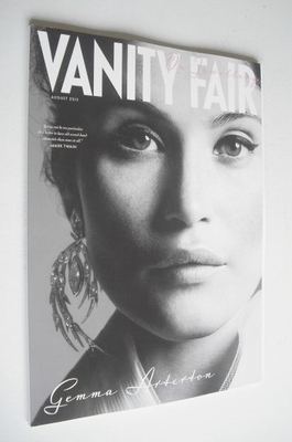 Vanity Fair Jewellery magazine supplement (August 2013 - Gemma Arterton cov