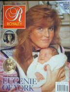 <!--1990-05-->Royalty Monthly magazine - Sarah Ferguson and Princess Eugeni