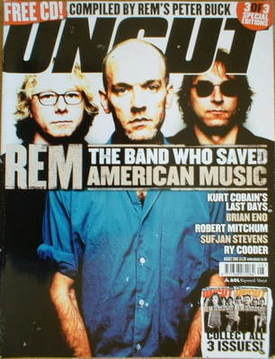 <!--2005-08-->Uncut magazine - REM cover (August 2005)