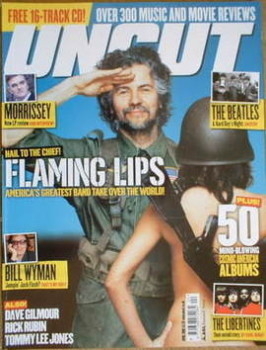 Uncut magazine - The Flaming Lips cover (April 2006)