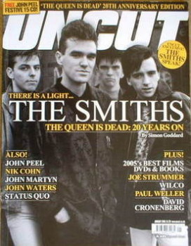 Uncut magazine - The Smiths cover (January 2006)