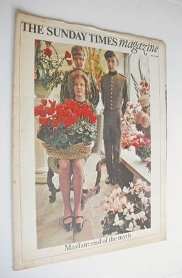 <!--1966-07-31-->The Sunday Times magazine - Mayfair, End Of The Myth cover