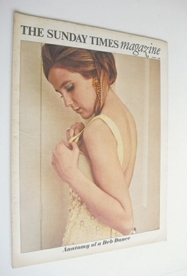<!--1966-08-07-->The Sunday Times magazine - Anatomy Of A Deb Dance cover (