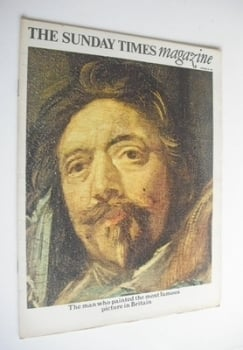 The Sunday Times magazine - Frans Hals cover (30 October 1966)