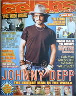Celebs magazine - Johnny Depp cover (17 June 2007)