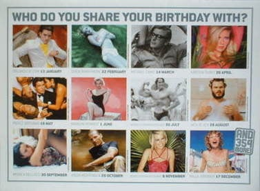 Total Film Movie Star Birthday Calendar (2004)