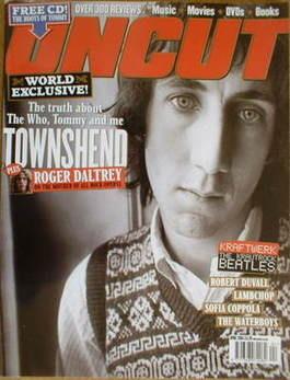 <!--2004-04-->Uncut magazine - Pete Townshend cover (April 2004)