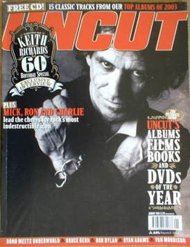 <!--2004-01-->Uncut magazine - Keith Richards cover (January 2004)