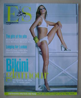 <!--2003-07-11-->Evening Standard magazine - Bikini Glamour cover (11 July