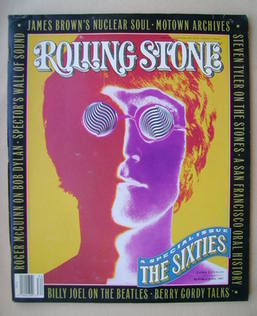 Rolling Stone magazine - John Lennon cover (23 August 1990 - Issue 585)
