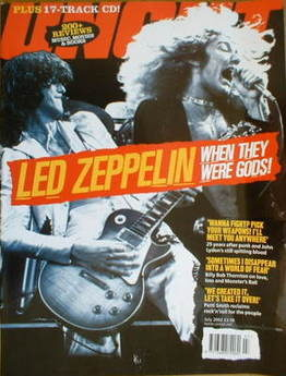 <!--2002-07-->Uncut magazine - Led Zeppelin cover (July 2002)