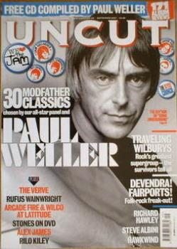 Uncut magazine - Paul Weller cover (September 2007)