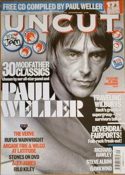 <!--2007-09-->Uncut magazine - Paul Weller cover (September 2007)