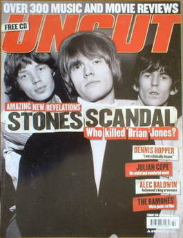 <!--2005-02-->Uncut magazine - The Rolling Stones cover (February 2005)