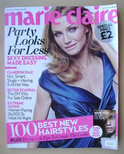 <!--2010-01-->British Marie Claire magazine - January 2010 - Cameron Diaz c