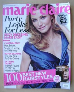 British Marie Claire magazine - January 2010 - Cameron Diaz cover