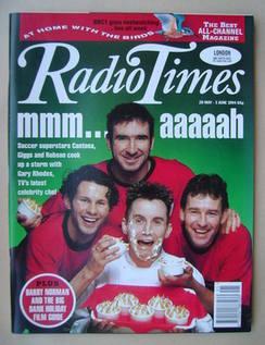 <!--1994-05-28-->Radio Times magazine - Eric Cantona, Ryan Giggs, Gary Rhod