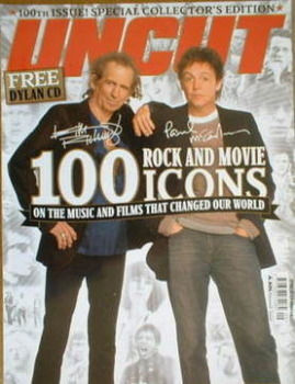 Uncut magazine - Paul McCartney and Keith Richards cover (September 2005)