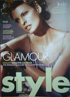 <!--2004-09-->Style magazine - Linda Evangelista cover (September 2004)